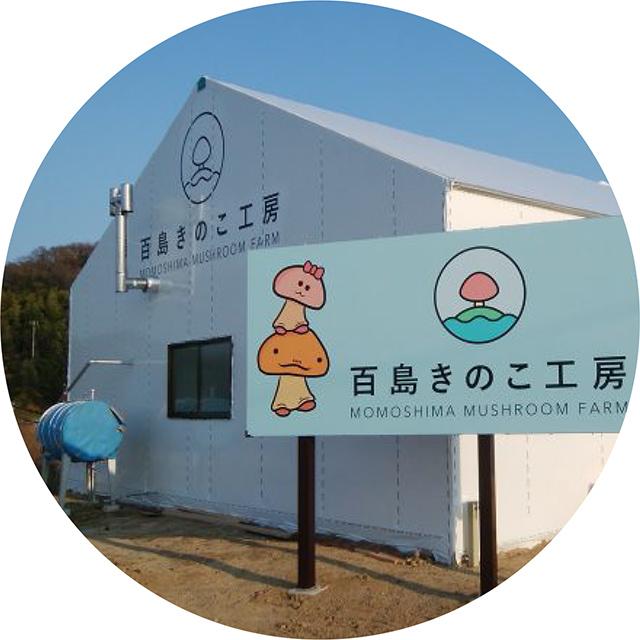 百島キノコ工房